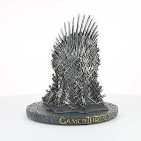 Statuette Games Of Thrones - Iron Throne