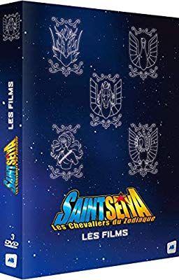 DVD Saint Seiya (Les Chevaliers du Zodiaque) - Les 5 Films (Non censuré)