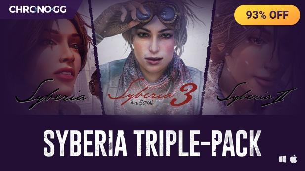 Syberia 1, 2 et 3 sur PC (Dématérialisé - Steam)