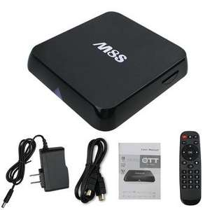 TV Box Android M8S - Stockage 8 Go, RAM 2 Go
