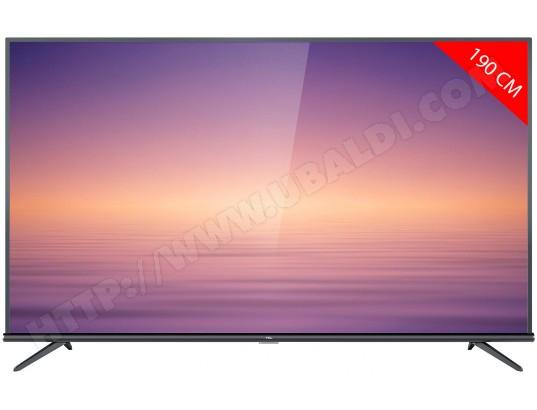"TV LED 75"" TCL 75EP663 - 4K UHD, Dalle VA, Android TV"