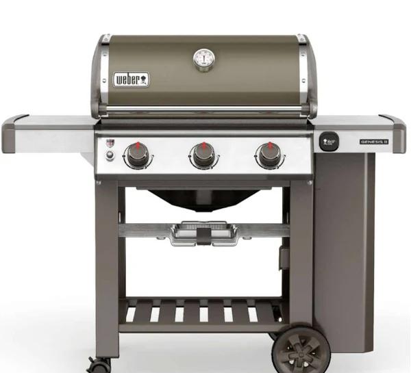 Barbecue Gril au Gaz Weber Genesis II E-310 GBS avec Thermomètre Intégré (579,99€ avec FETES2019)