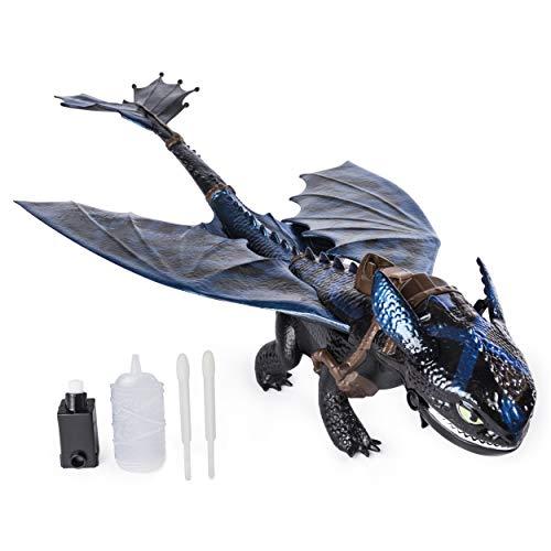 Figurine Dragons 3 - Krokmou Géant Cracheur de Feu