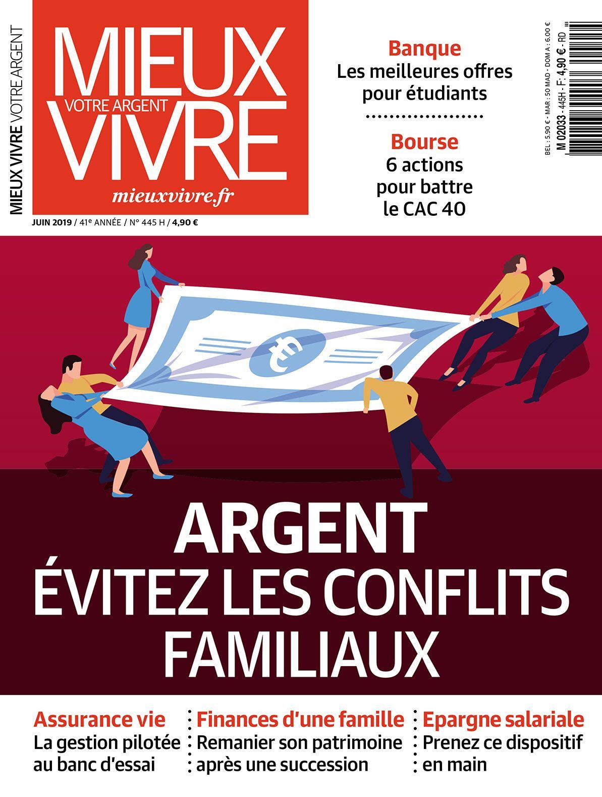 Abonnement Annuel au magazine Mieux Vivre votre Argent (11 Numéros)