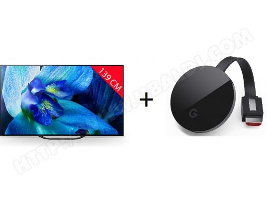 "TV 55"" Sony KD55AG8BAEP - OLED, 4K UHD, HDR 10/HLG, Dolby Vision, Android TV + Chromecast Ultra"