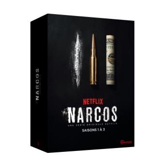 Coffret DVD Narcos - Saisons 1 à 3
