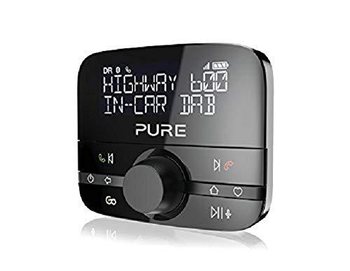 Adaptateur Dab+ de Voiture Pure - Musique/lit, Mains-Libres, Bluetooth, Noir (Vendeur Tiers)