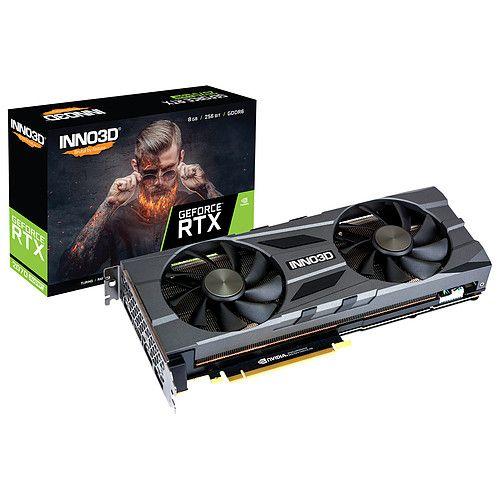 Carte Graphique INNO3D GeForce RTX 2070 SUPER TWIN X2 OC (470.65€ avec DESTROY)