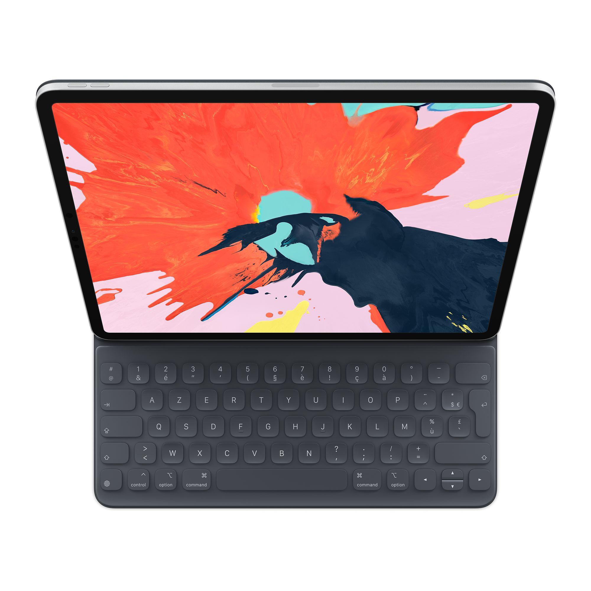 """Clavier Apple Smart Keyboard Folio pour Tablette iPad Pro 12.9"""" dernière génération ou 2018 (Frontaliers Suisse)"""