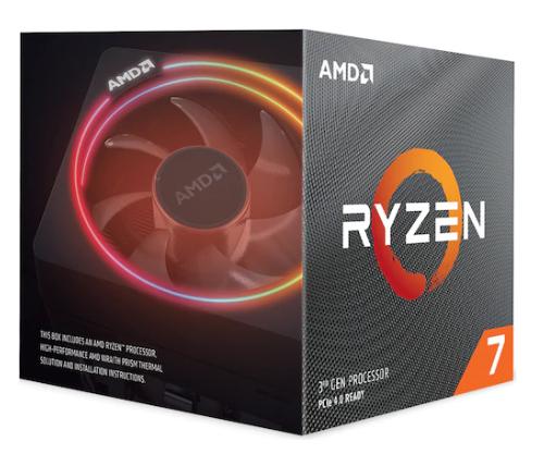 Processeur AMD Ryzen 7 3800X 3.90GHz - Socket AM4 (Frontaliers Suisse)