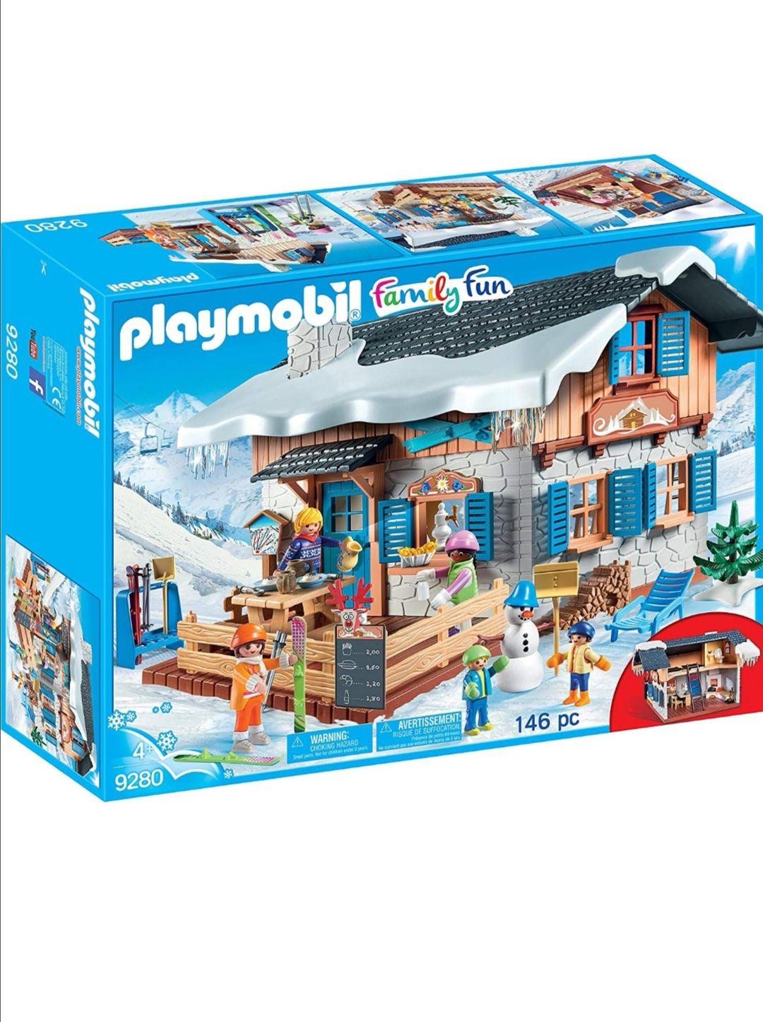 Jeu de construction Playmobil Chalet des skieurs (9280)