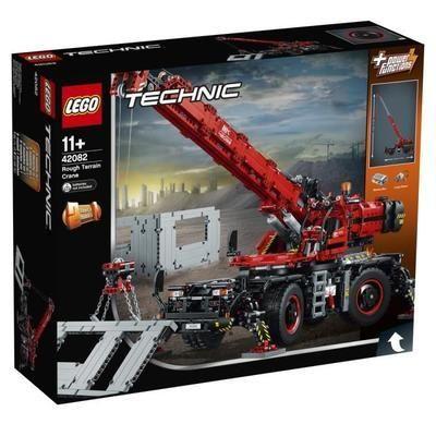Jouet Lego Technic - La grue tout-terrain (42082)
