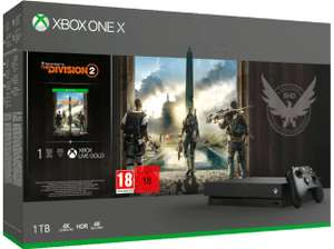 Console Microsoft Xbox One X (1 To) + The Division 2 (frontaliers Suisse)