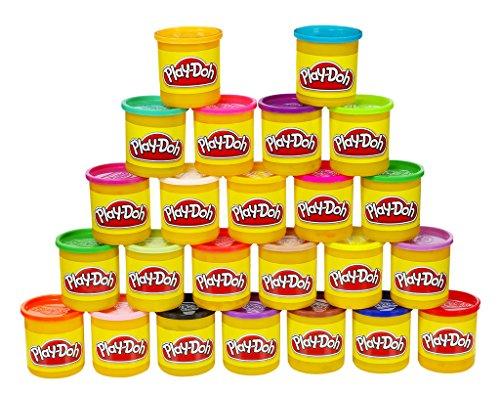 Lot de 24 pots de pâte à modeler de couleurs Play-Doh