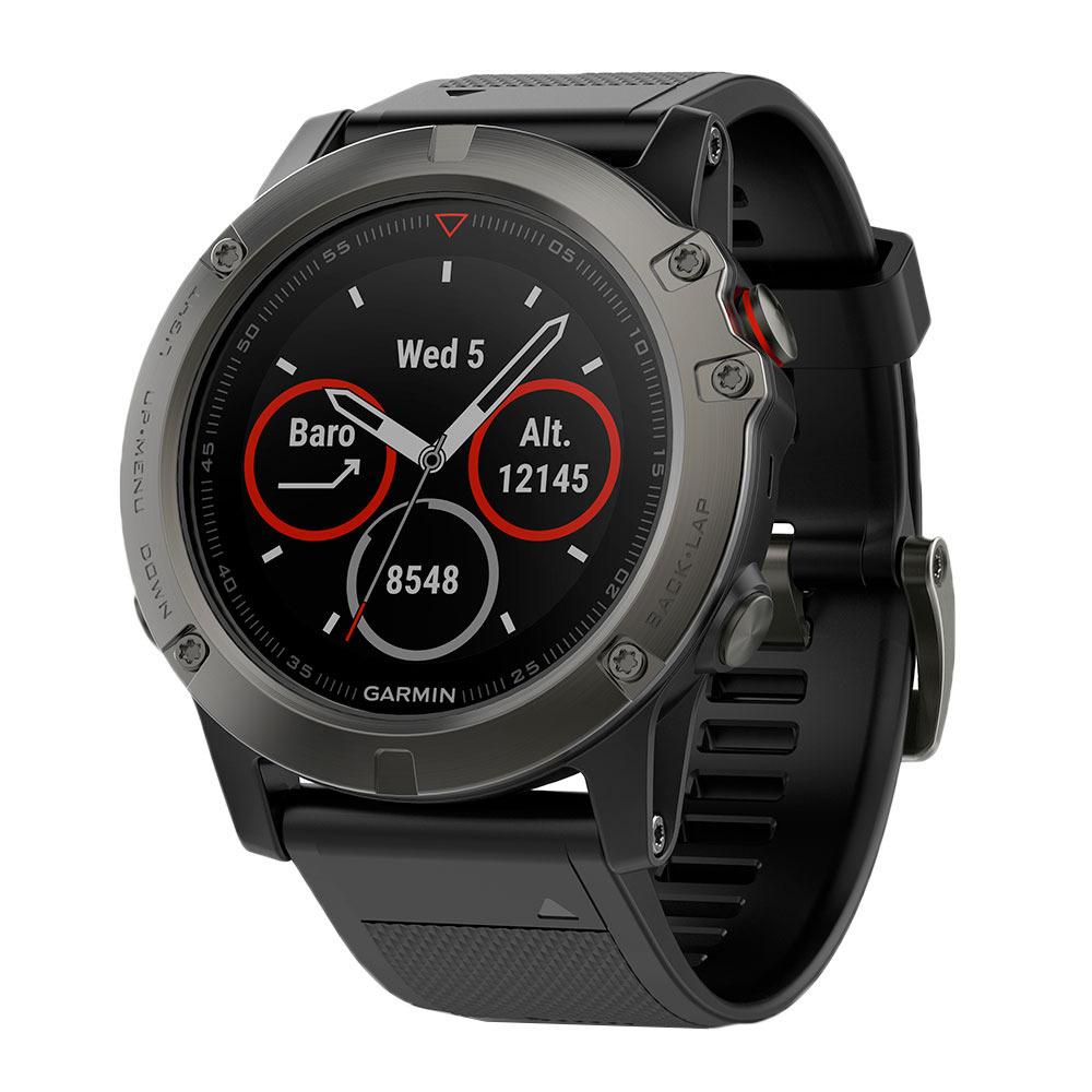 Montre GPS connectée Garmin fenix 5X Sapphire