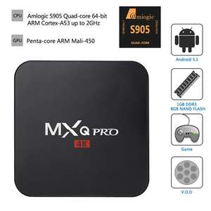 Box Android MXQ Pro Amlogic S905 4K KODI, Quad Core 2.0GHz, WIFI, Miracast, DLNA
