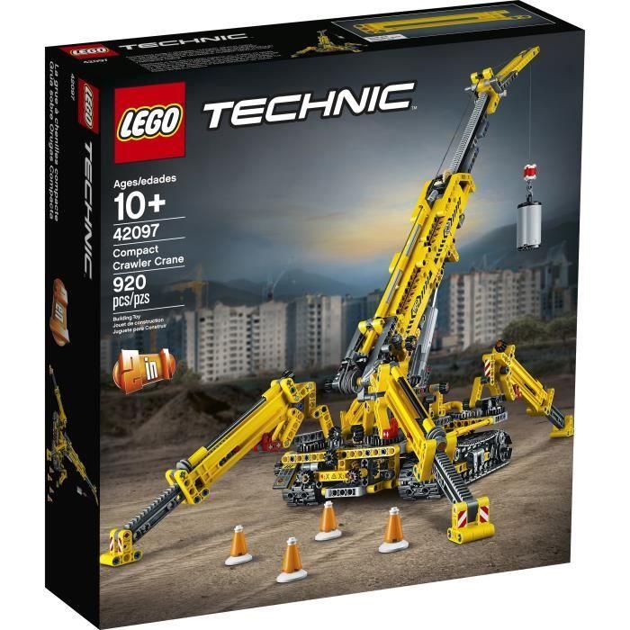 Jouet Lego Technic - La grue araignée (42097)