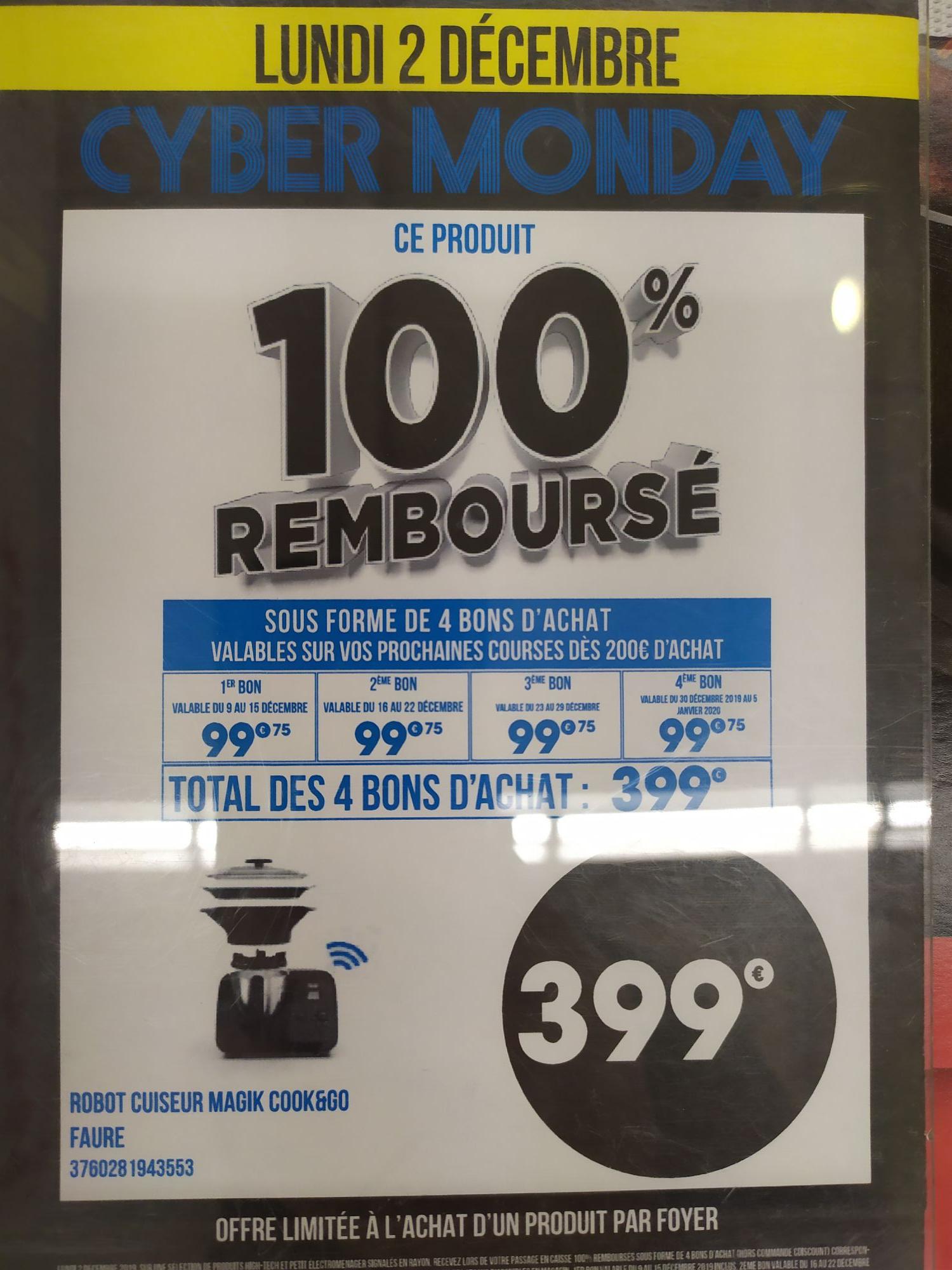 Sélection de produits 100% remboursés en 4 bon d'achats - Salon de Provence (13)