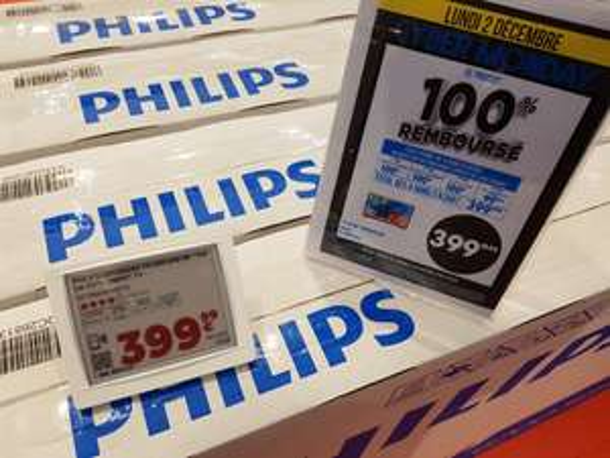 """TV 50"""" PHILIPS 50PUS6203 (4K UHD, SMART TV)à 399€ 100% remboursés via 4 bons d'achat de 100€ valable dès 200€- lons le Saunier (39"""
