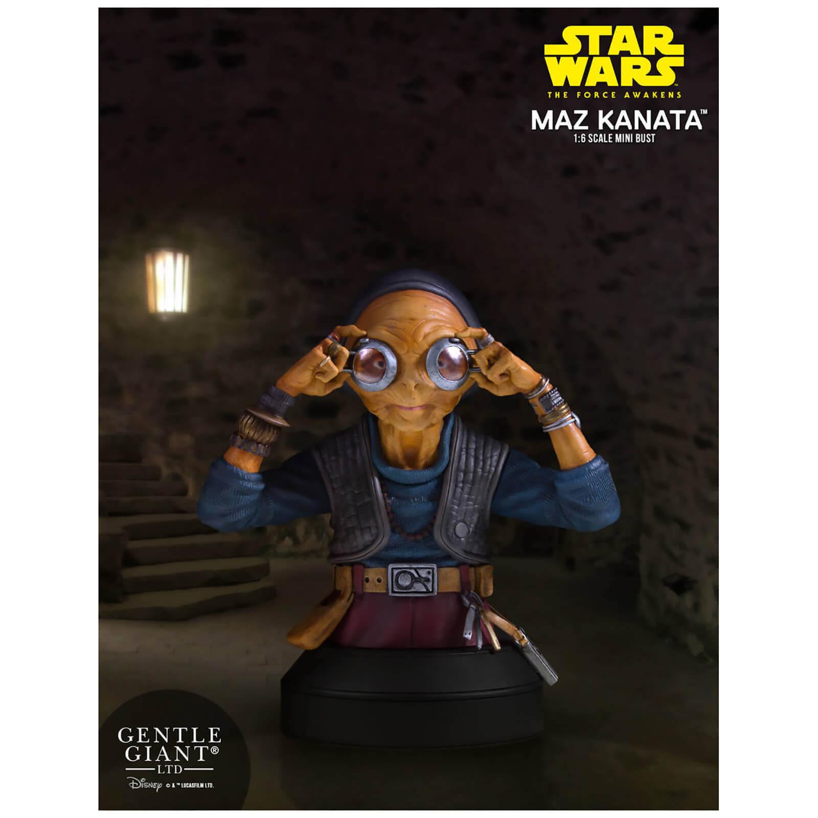 Mini-buste Star Wars: Le Réveil de la Force Maz Kanata - 14 cm