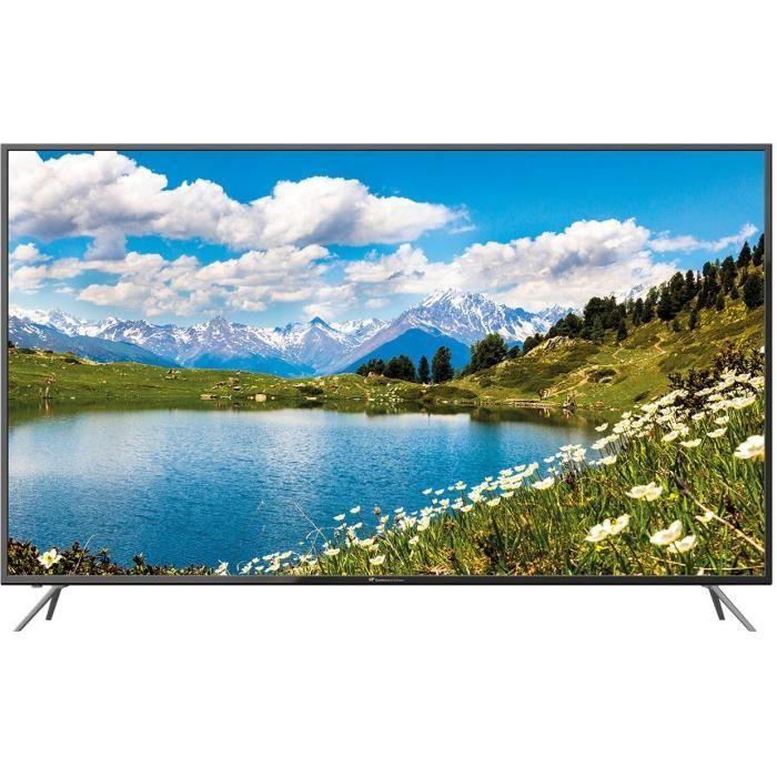 "TV 65"" Continental Edison CELED65319B27 - LED, 4K UHD, 3 HDMI"