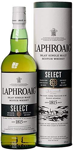 Bouteille de whisky Laphroaig Select Islay Single Malt - 0.7 cl