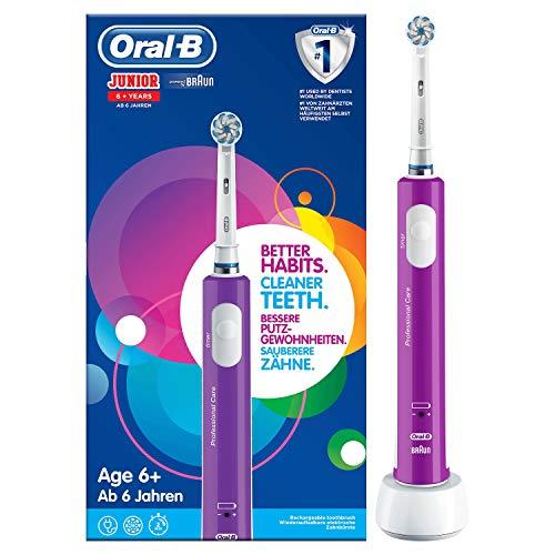 Brosse à dents électrique pour enfant Oral-B Junior 6+ (via ODR de 5€)