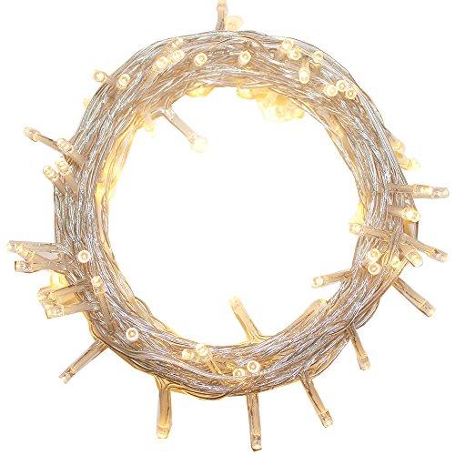 Guirlande Lumineuse 300 LED - 30m, Blanc Chaud (vendeur tiers)