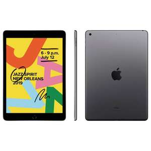 "Tablette 10.2"" Apple iPad WiFi - 32 Go, Gris sidéral, 2019 (Frontaliers suisses)"