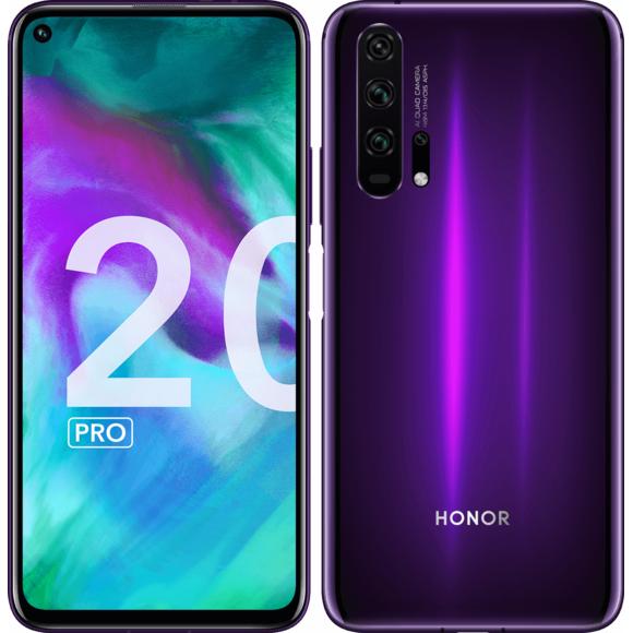 """Smartphone 6.26"""" Honor 20 Pro - Double SIM, RAM 8 Go, 256 Go (via ODR 100€)"""