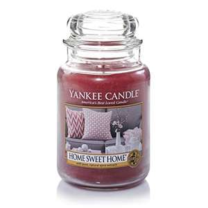 Bougie Yankee Candle Grande Taille - 3 parfums - Ex: Home Sweet Home