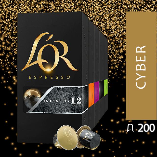 """Sélection de 200 capsules de café """"Cyber Selection"""""""