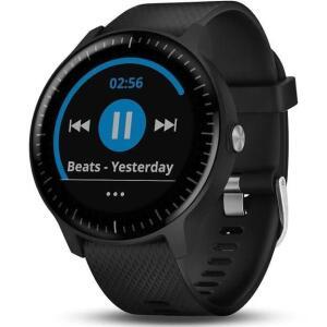 Montre connectée Garmin vivoactive 3 Music - GPS, Noir (Frontaliers Allemagne)