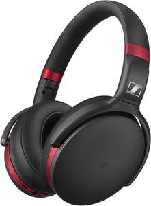 Casque Bluetooth Sennheiser HD 4.50R - Réduction de bruit active, Noir et Rouge (Frontaliers Suisse)