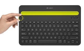 Clavier Bluetooth Logitech K480 - Noir