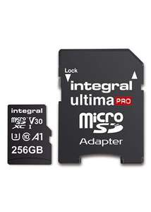 Carte mémoire Micro SD Integral Ultima Pro 256 Go V30 (Import UK)