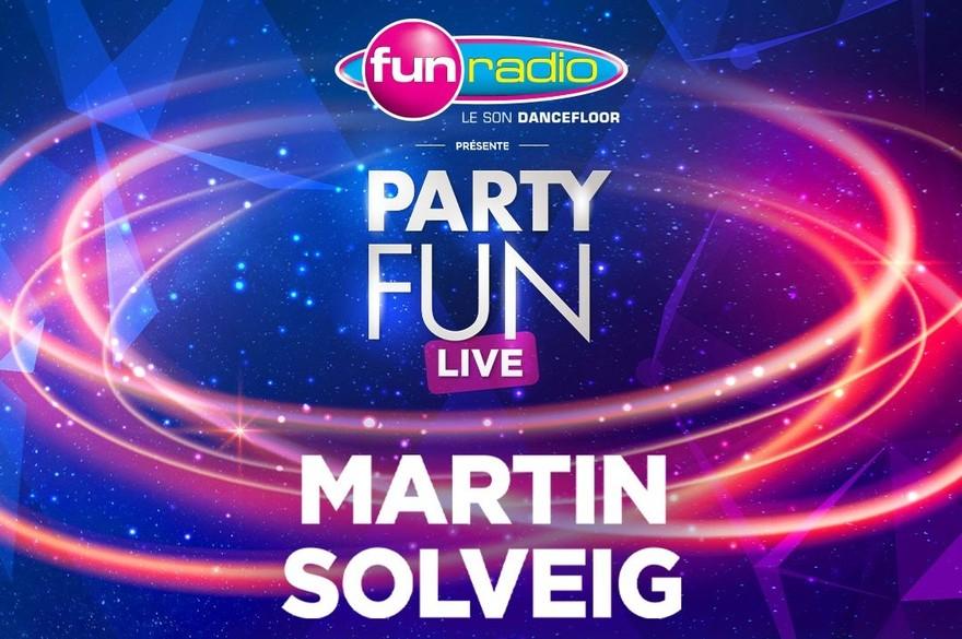 Soirée concerts Party Fun Live de Martin Solveig et Boston Bun - le mercredi 18 décembre (19 h), Le MeM, Rennes (35)