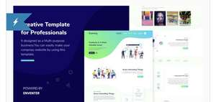 Thème HTML5 Coagex - Creative Agency Template gratuit (Dématérialisé)