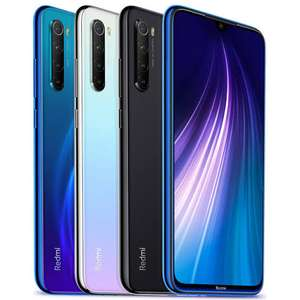 "Smartphone 6.3"" Xiaomi Redmi Note 8 - Global Version, 64 Go, 4 Go RAM, Snapdragon 665 (150€ avec le code CM19 - +40€ en SuperPoints)"