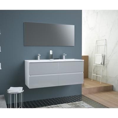 Meuble salle de bain double vasque Totem - 120cm