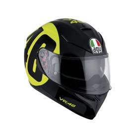 Sélection de Casques Moto AGV - Ex: K-3 SV E2205 Top Bollo 46 Black/Yellow (agv.com)
