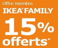 [Ikea Family] 15% offerts en bon d'achat dès 3 appareils électroménagers achetés