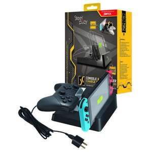 Station de recharge console & manette switch Steelplay