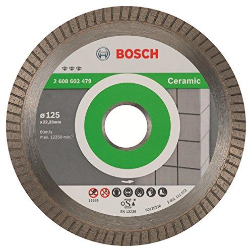 Disque à tronçonner diamant Bosch Professional 2608602479 - Best Ceramic Turbo EC 125 x 22,23