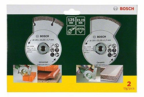 Disque Diamant pour Meuleuse Carrelage et Maçonnerie Bosch 2607019484 - 125 mm