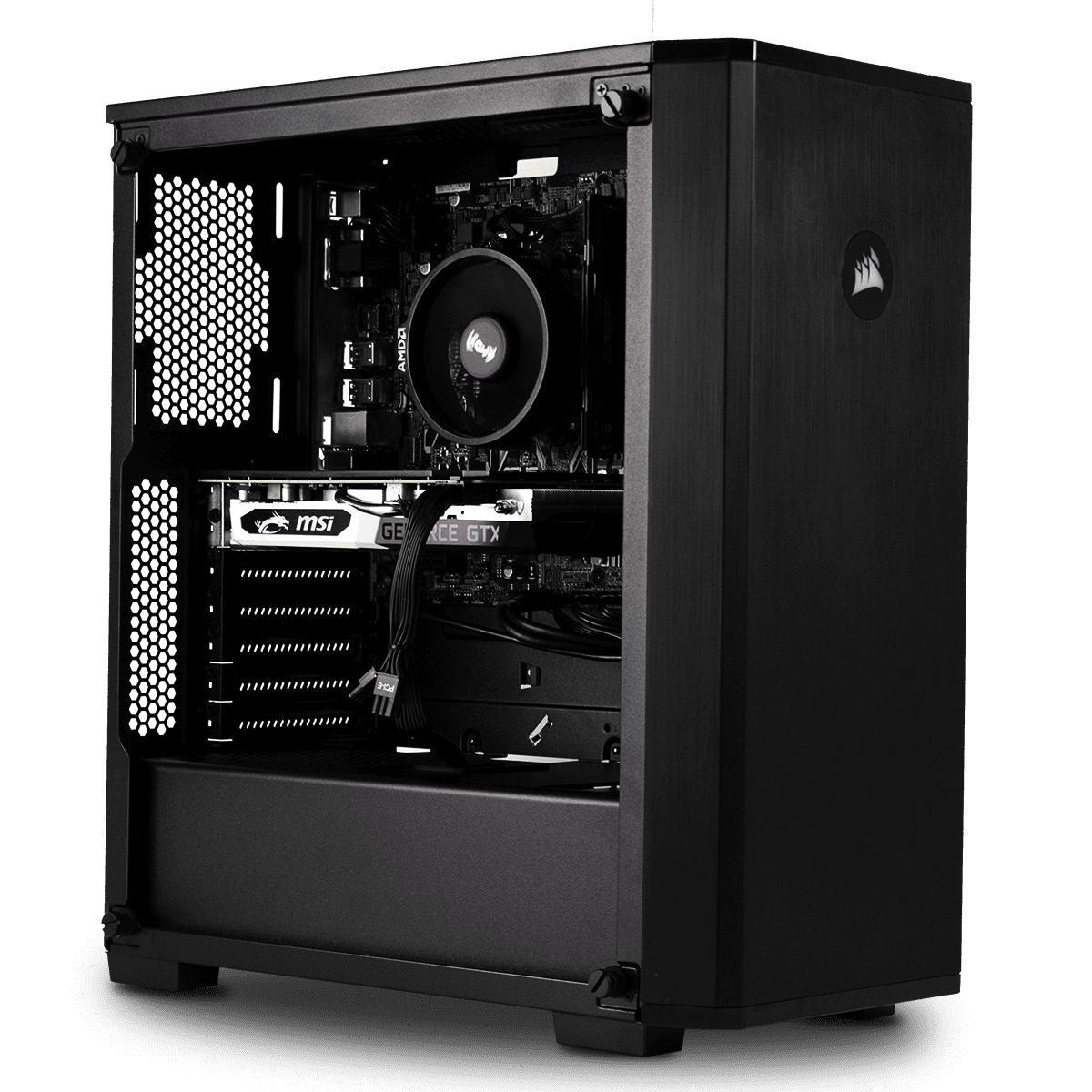 PC Cybertek Recon - Ryzen 5 3600, GTX 1660, 16Go Ram, SSD 480GO, DD 4TO, sans OS