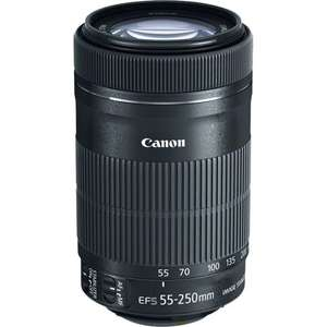 Objectif Canon EF-S 55-250mm / f4-5.6 IS STM (Vendeur Tiers)