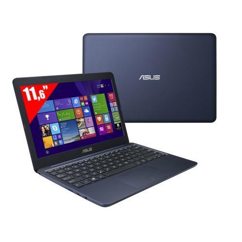 "PC Portable 11.6"" Asus EeeBook X205TA-FD0067TS (Intel Atom Z3735F, eMMC 32 Go, RAM 2 Go) - Bleu foncé"