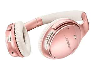 Casque sans fil à réduction de bruit Bose QuietComfort 35 II - Rose (217.99€ avec CM19 + 22.80€ en SuperPoints)