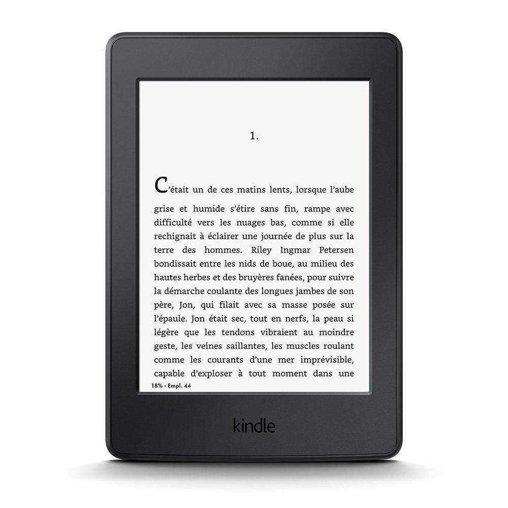 """Liseuse tactile 6"""" Kindle Paperwhite - Sans publicité à 109.99€ et avec publicité"""